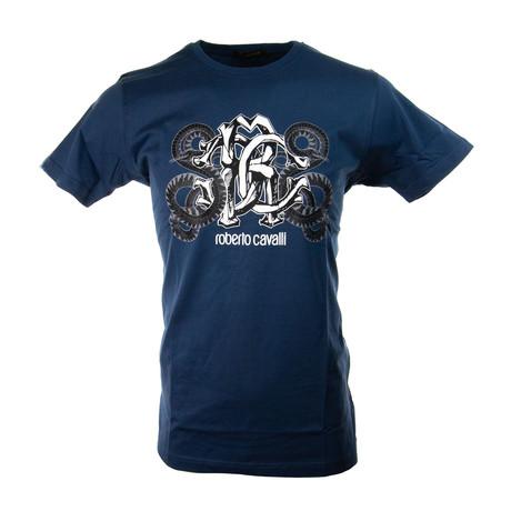 Jimmy T-Shirt // Navy (S)