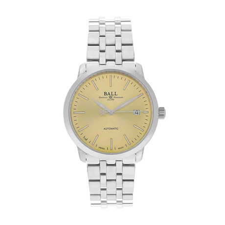 Ball Trainmaster Legend Date Automatic // NM2030D-SJ-GO // Store Display