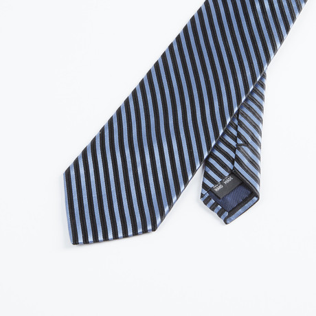 Formal Stripe Tie // Blue