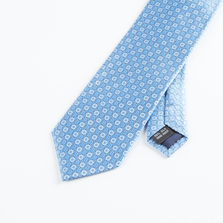 Subtle Dot Tie // Blue