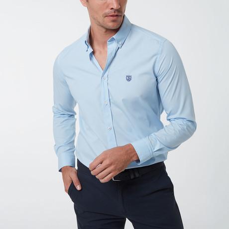 Ingel Button-Up Shirt // Baby Blue (S)