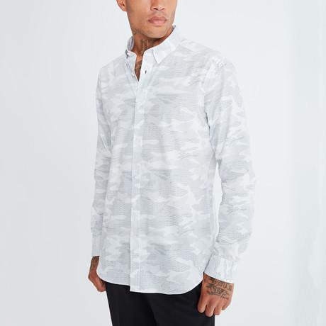 Geert Button-Up Shirt // White (S)