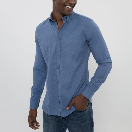Frantz Shirt // Dark Blue (S)
