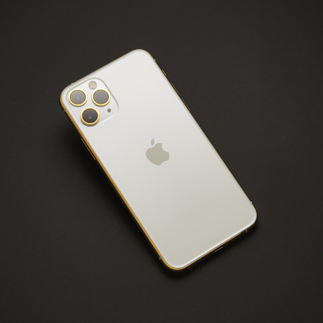 24K iPhone 11 Pro Max // Unlocked // White (64 GB)