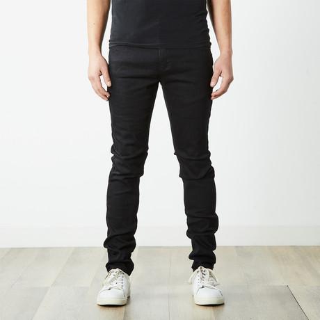 Skater Skinny Jeans // Black (30WX32L)