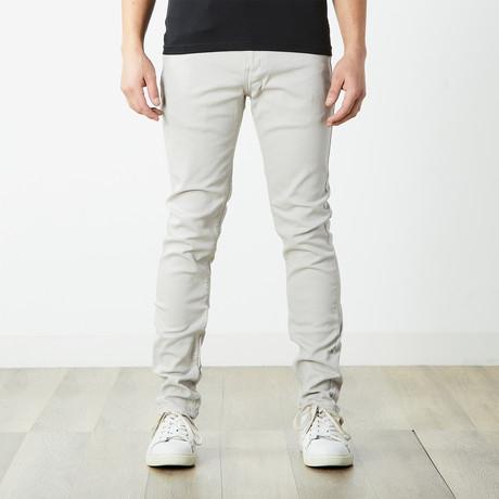 Skater Skinny Jeans // Light Gray (30WX32L)