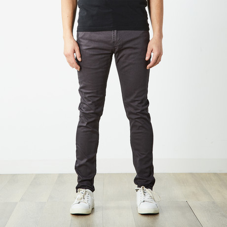 Skater Skinny Jeans // Charcoal (30WX32L)