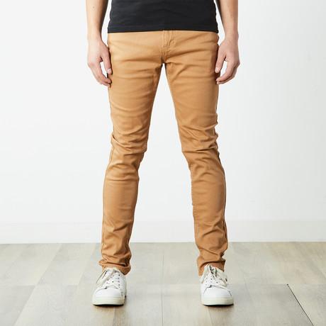 Skater Skinny Jeans // Wheat (30WX32L)