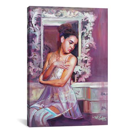 """Portrait Of Dorsa (12""""W x 18""""H x 0.75""""D)"""