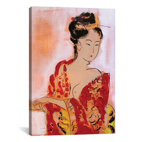 "Little Geisha III // Marina Del Pozo (12""W x 18""H x 0.75""D)"