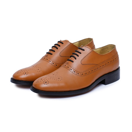 Medallion Toe Goodyear Welted // Tan-3 (US: 9)