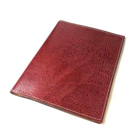 Leather Portfolio // Burgundy