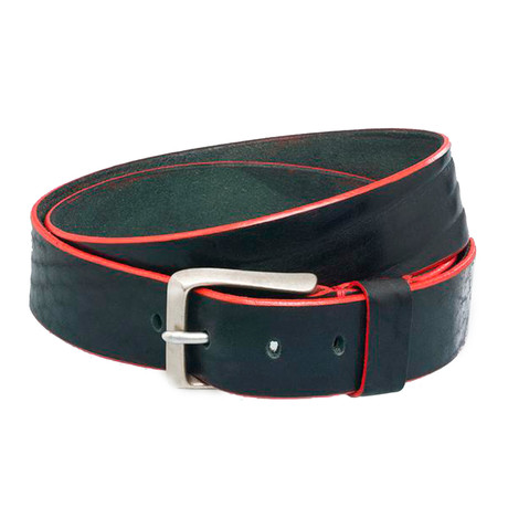 "Edge Belt // Charcoal (Size 32"")"