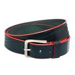 """Edge Belt // Charcoal (Size 32"""")"""
