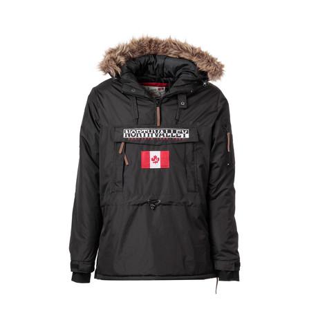 Stoppernoir Pop-Over Jacket // Black (S)