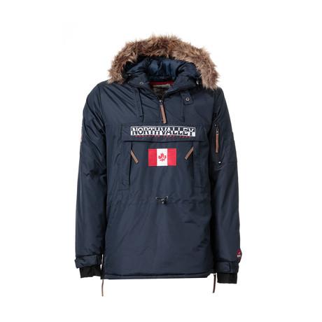 Stoppermarine Pop-Over Jacket // Navy (S)