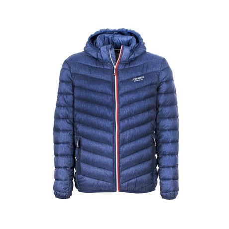 Mylanmarine Light Hooded Jacket // Navy (S)