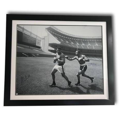 Muhammad Ali + Ken Norton // Dual Signed Framed Photo