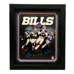 Buffalo Bills Hall Of Famers // Signed Photo // Kelly, Reed, Smith, Thomas