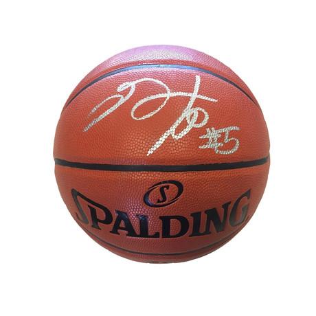 De'Aaron Fox // Signed NBA Basketball // Sacramento Kings