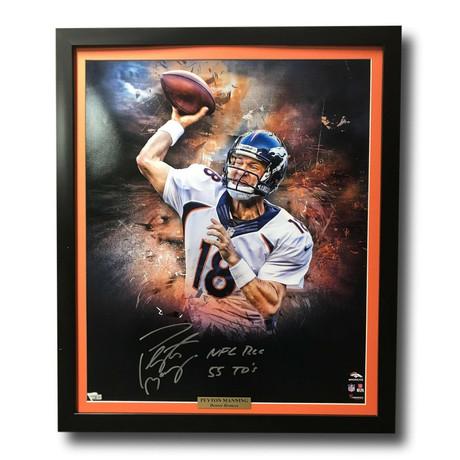 Peyton Manning // Signed Broncos Photo