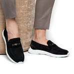 Balmoral Softy Runner // Black (Euro: 41)