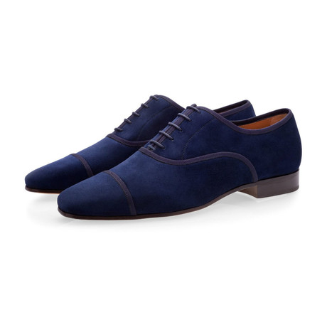 Polin Velukid Lace Ups // Navy (Euro: 39)