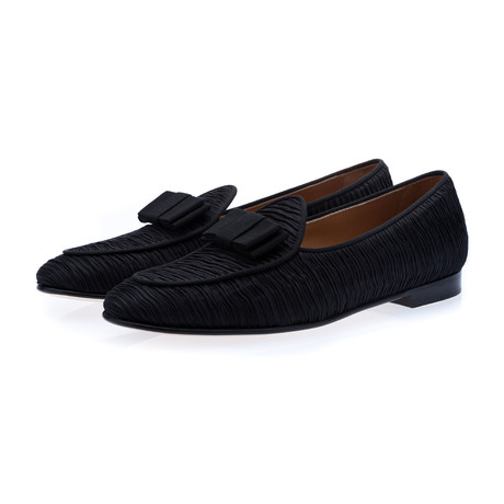 Tangerine 3 Increspo Belgian Loafers // Black (Euro: 39)