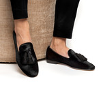 Louis Pony Slippers // Black (Euro: 43)