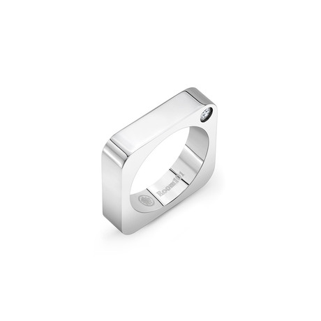 Plain Square Ring // Stainless Steel (6)