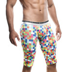 Hipster Athletic Boxer // Pixels (S)