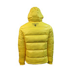 Comics Down Jacket // Yellow (S)