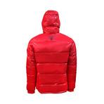 Comics Down Jacket // Red (XL)