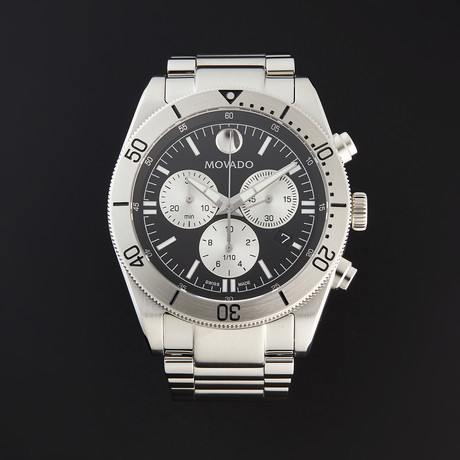 Movado Sport Chronograph Quartz // 0607439 // New