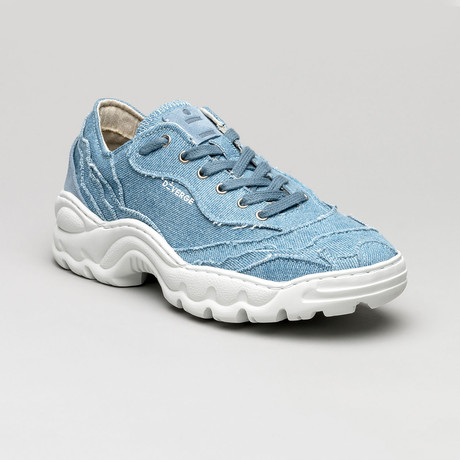 Landscape Canvas Sneakers V4 // Jeans (Euro: 40)