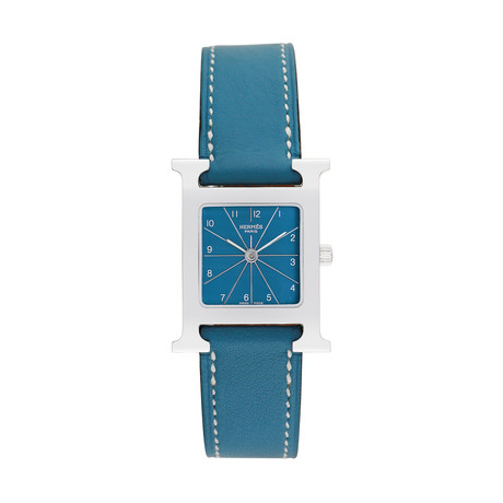 Hermes Ladies H Watch Quartz // HH1.210 // 793-TM10283 // Pre-Owned