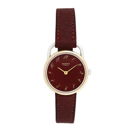 Hermes Ladies Arceau Quartz // Pre-Owned