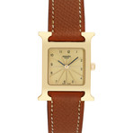 Hermes Ladies H Watch Quartz // HH1.201 // Pre-Owned