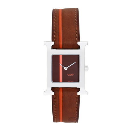 Hermes Ladies H Watch Quartz // Pre-Owned