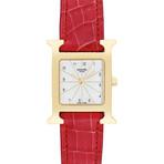 Hermes Ladies H Watch Quartz // RS1.201 // Pre-Owned