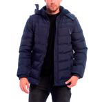 Cline Jacket // Navy Blue (XL)
