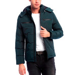 Bowen Jacket // Dark Green (M)