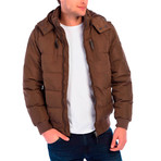 Pearl Jacket // Brown (L)