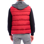 Shelton Vest // Bordeaux (4XL)