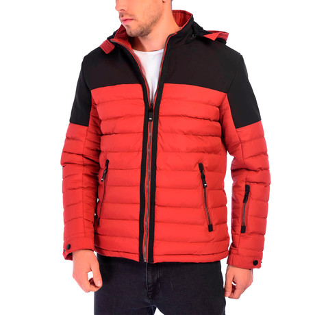 Matteo Jacket // Orange (S)