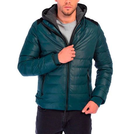 Antonio Jacket // Dark Green (S)