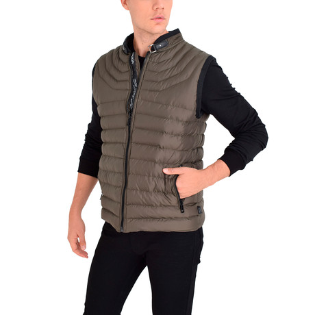 Randall Vest // Khaki (S)