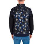 Chris Vest // Navy Blue Camo (XL)