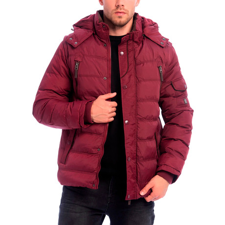 Ronald Jacket // Bordeaux (S)