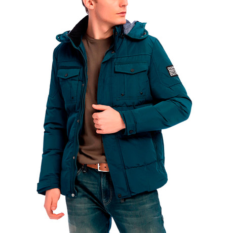 Jose Jacket // Dark Teal (S)